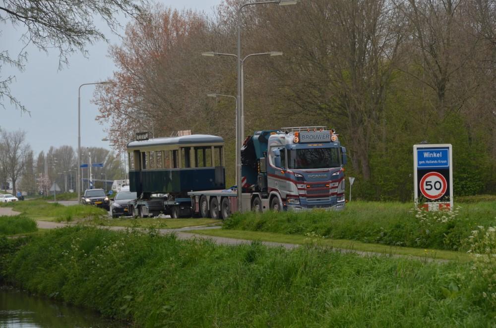 Bak van de A620 onderweg van Winkel naar Haarlem